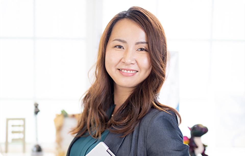 女性向けサービスに特化!見る人の心を動かすママwebマーケティングデザイナー沼田 薫